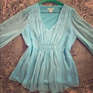 Blue Sundance silk shirt
